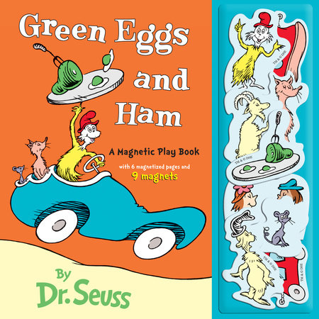 Green Eggs and Ham : A Magnetic Play Book Cover