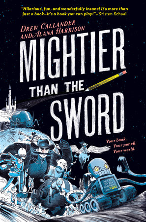 Mightier Than the Sword #1 by Drew Callander and Alana Harrison