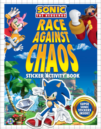 Race Against Chaos Sticker Activity Book by Kiel Phegley