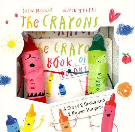 The Crayons: A Set of Books and Finger Puppets by Drew Daywalt