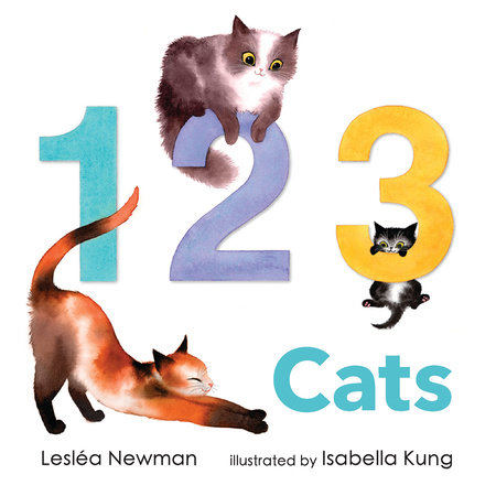 1 2 3 Cats: A Cat Counting Book by Lesléa Newman