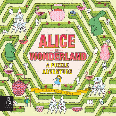 Alice in Wonderland: A Puzzle Adventure by The Templar Company LTD