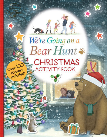 We're Going on a Bear Hunt: Christmas Activity Book by Left Blank