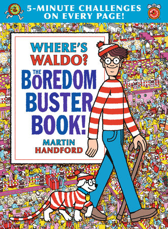 Where's Waldo? The Boredom Buster Book: 5-Minute Challenges by Martin Handford
