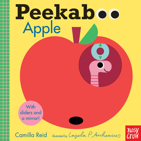 Peekaboo: Apple by Camilla Reid