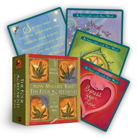Four Agreements Cards by Miguel Ruiz