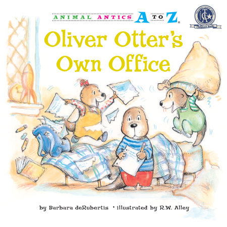 Oliver Otter's Own Office by Barbara deRubertis