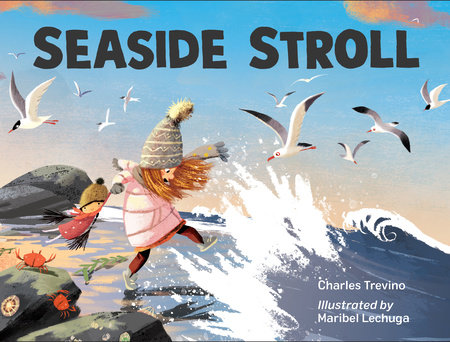 Seaside Stroll by Charles Trevino