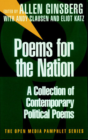 Poems for the Nation by Allen Ginsberg