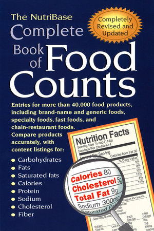 The NutriBase Complete Book of Food Counts by NutriBase