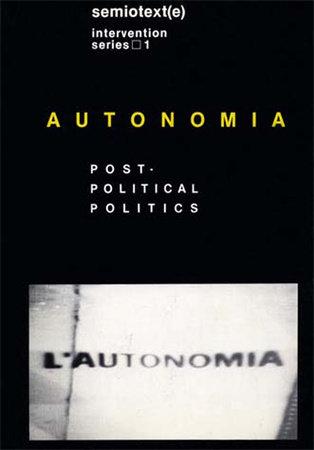 Autonomia, new edition by