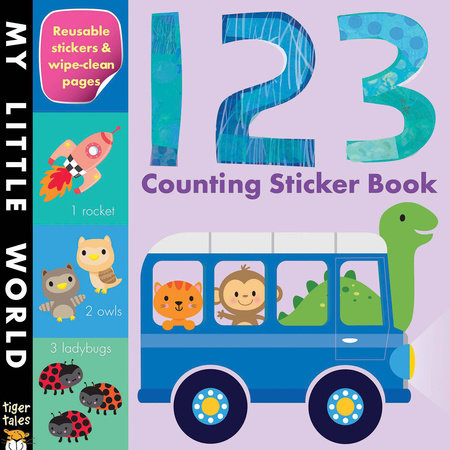 123 Counting Sticker Book by Tiger Tales