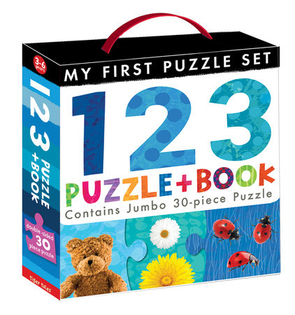 123 Puzzle and Book by Tiger Tales