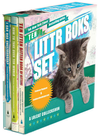 Teh Littr Boks Set by Professor Happycat
