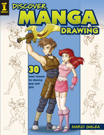 Discover Manga Drawing by Mario Galea