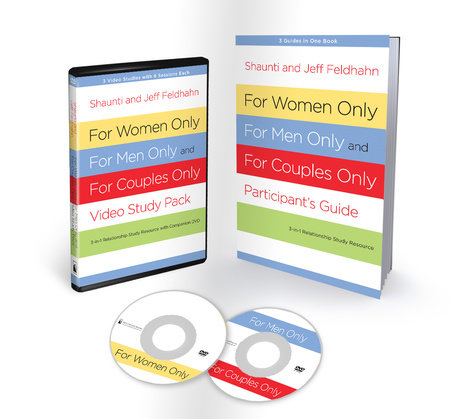 For Women Only, For Men Only, and For Couples Only Video Study Pack by Shaunti Feldhahn and Jeff Feldhahn