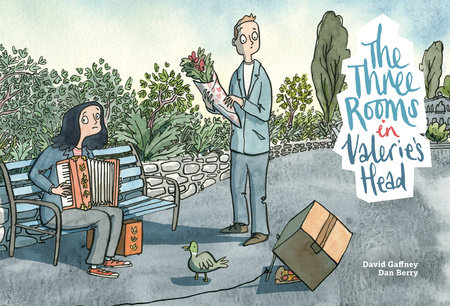 The Three Rooms in Valerie's Head by David Gaffney