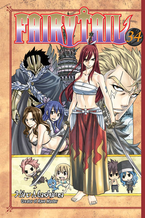 FAIRY TAIL 34 by Hiro Mashima