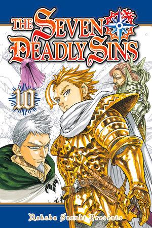 The Seven Deadly Sins 10 by Nakaba Suzuki