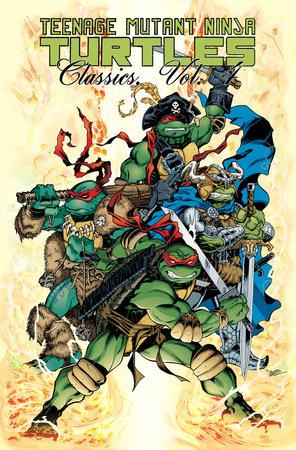 Teenage Mutant Ninja Turtles Classics Volume 4 by Mark Bode, Jan Strnad, Rick McCollum and Bill Anderson