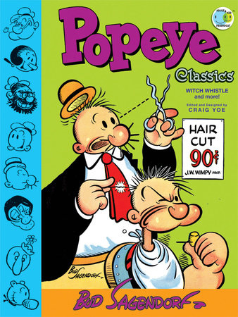 Popeye Classics: Witch Whistle and more! by Bud Sagendorf