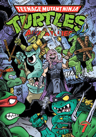Teenage Mutant Ninja Turtles Adventures Volume 7