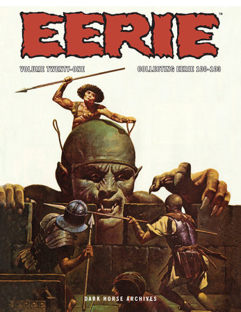 Eerie Archives Volume 21 by Jim Starlin