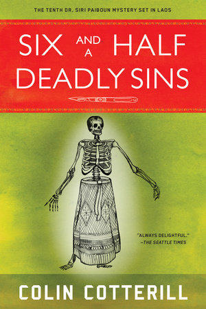 Six and a Half Deadly Sins by Colin Cotterill