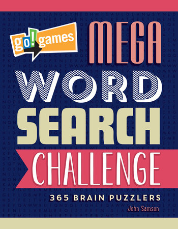 Go!Games Mega Word Search Challenge by John Samson