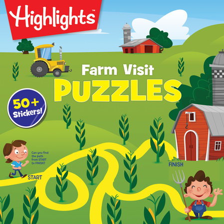 Farm Visit Puzzles by Highlights