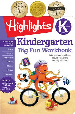 Kindergarten Big Fun Workbook by