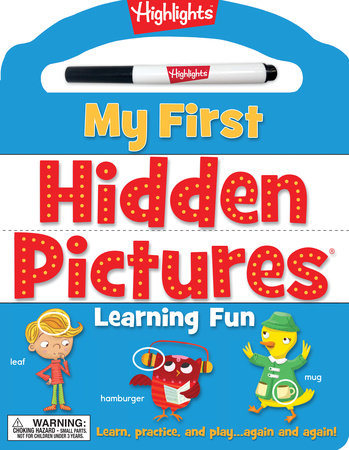 My First Hidden Pictures® Learning Fun by