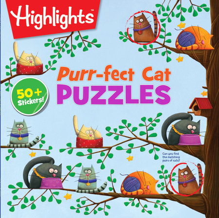 Purr-fect Cat Puzzles by