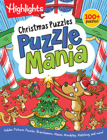 Christmas Puzzles by Highlights