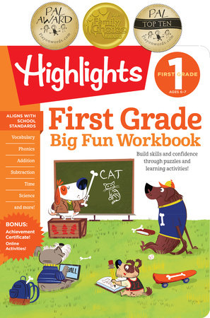 First Grade Big Fun Workbook by