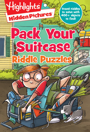 Pack Your Suitcase Riddle Puzzles by
