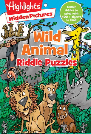 Wild Animal Riddle Puzzles by