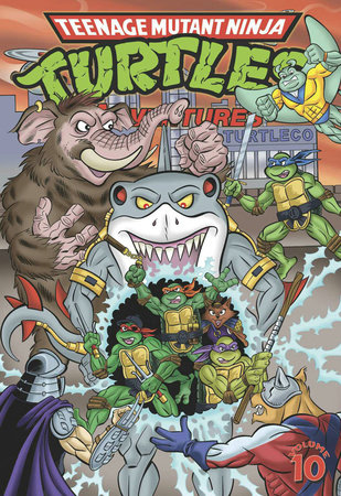 Teenage Mutant Ninja Turtles Adventures Volume 10 by Chris Allan, Doug Brammer and Dean Clarrain