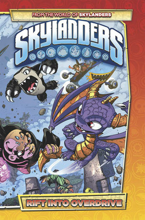 Skylanders: Rift Into Overdrive by Ron Marz and David A. Rodriguez