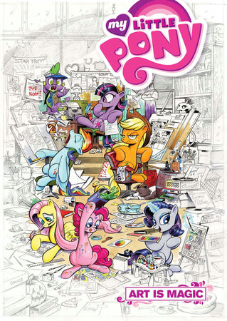 My Little Pony: Art is Magic!, Vol. 1 by