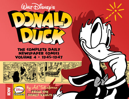 Walt Disney's Donald Duck: The Daily Newspaper Comics Volume 4 by Bob Karp