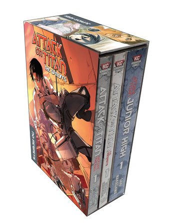 Attack on Titan: The Spinoffs Collection by Hajime Isayama