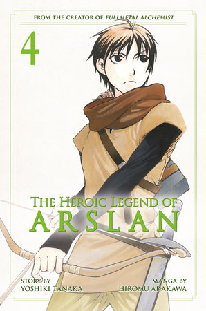 The Heroic Legend of Arslan 4 by Yoshiki Tanaka