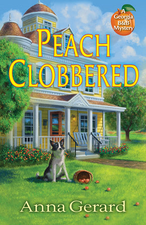 Peach Clobbered by Anna Gerard