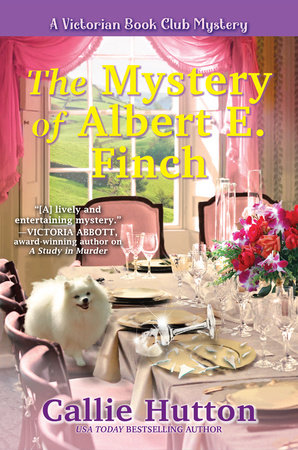 The Mystery of Albert E. Finch by Callie Hutton