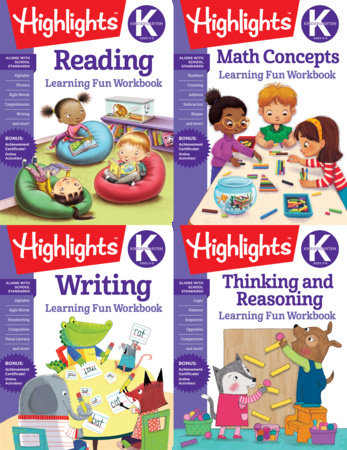 Highlights Kindergarten Learning Workbook Pack by Highlights Learning