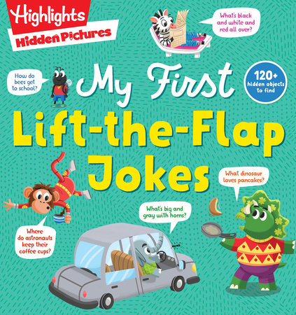 Hidden Pictures My First Lift-the-Flap Jokes by
