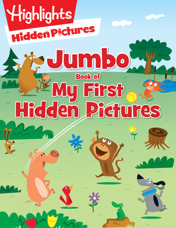 Jumbo Book of My First Hidden Pictures by