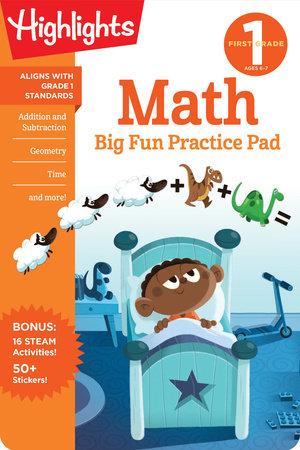 First Grade Math Big Fun Practice Pad