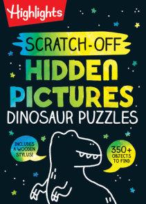Scratch-Off Hidden Pictures Dinosaur Puzzles